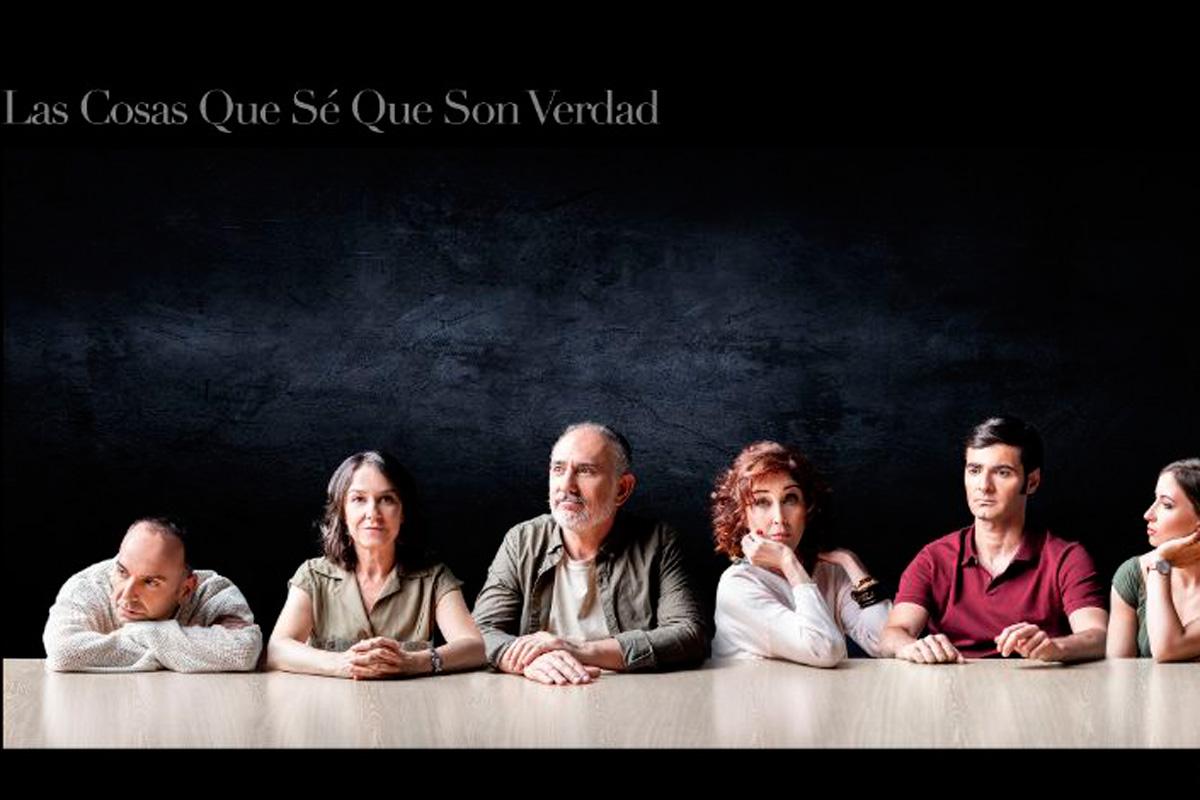 Con 'Las cosas que sé que son verdad', en el Teatro Salón Cervantes
