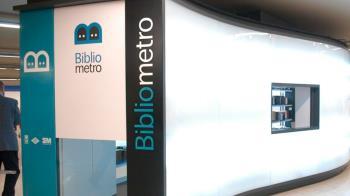 A través de Bibliometro, puedes hacerte con un préstamo gratuito mientras te desplazas por la ciudad