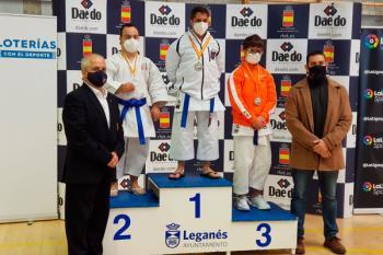 El fuenlabreño obtuvo la segunda plaza en la competición celebrada en Leganés