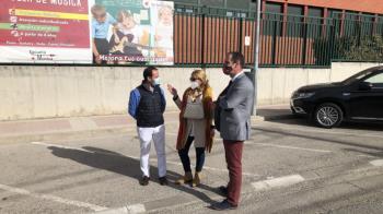 La Alcaldesa de Collado Villalba ha estado acompañada por los regidores municipales de Guadarrama y Alpedrete
