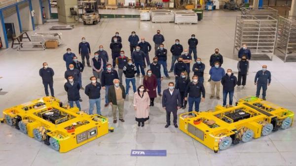DTA es la primera empresa a nivel mundial especializada en el diseño y fabricación de sistemas de transporte para movimientos de carga de interior de fábrica