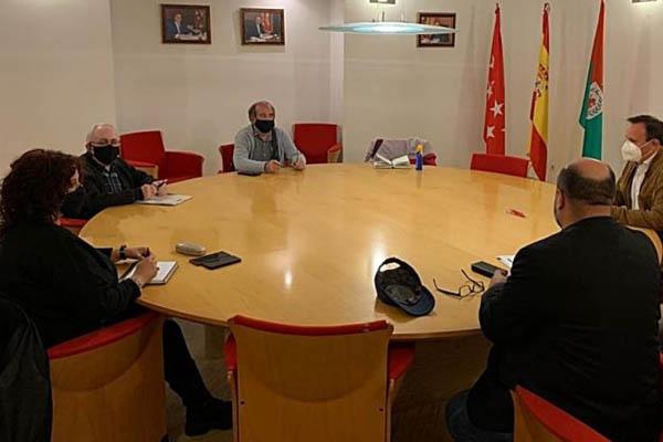 El alcalde ha podido conocer la situación de los centros de salud y la incidencia del Covid en la ciudad
