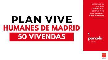 El Plan Vive de la Comunidad de Madrid construirá 15.000 viviendas en toda la región en esta legislatura