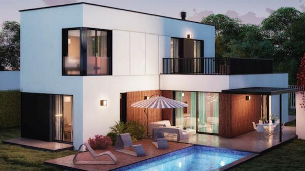 Complejo de viviendas y ocio con amplio uso domótica y minimización del gasto energético
