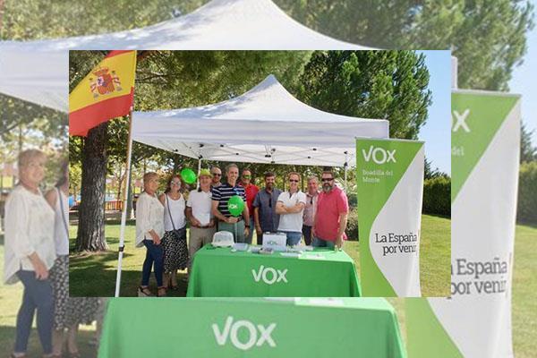 Vox de Boadilla del Monte logra eliminar la tasa de instalación de mesas y sillas en la localidad
