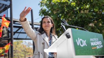 La formación de Rocío Monasterio anuló la entrevista que tenía concertada con el programa El Objetivo que presenta la periodista