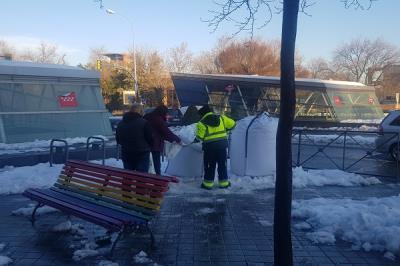 Lee toda la noticia 'VOX pedirá que el gobierno elimine de las Ordenanzas la obligación de los vecinos de limpiar la nieve de las aceras '