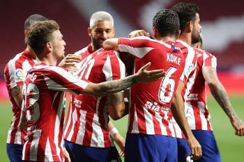 El Atlético gana 1-0 en el Wanda ante el Valladolid