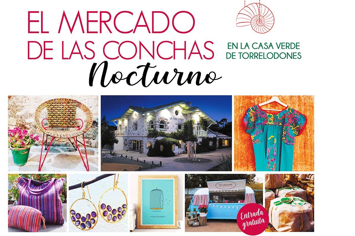 Ofrecerá artesanía, diseños y productos gourmet de la sierra norte de Madrid y, este año, será ¡nocturno!