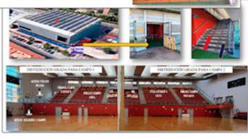 El Ayuntamiento permite que haya asistentes en los pabellones de Las Olivas y Agustín Marañón, y en centros que no contienen gradas
