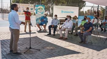 Las pistas de tenis de Colmenarejo Berrocal acogerán de nuevo un evento deportivo