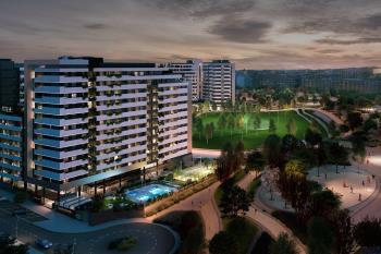 River Park será un moderno conjunto residencial de 223 pisos de obra nueva en Madrid Río