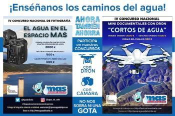 Minidocumentales con dron y fotografías podrán optar a estos certámenes organizados en colaboración con la Asociación de la Prensa de Guadalajara