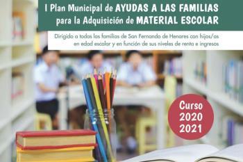 Forman parte del I Plan Municipal de Ayudas a las Familias para la Adquisición de Material Escolar