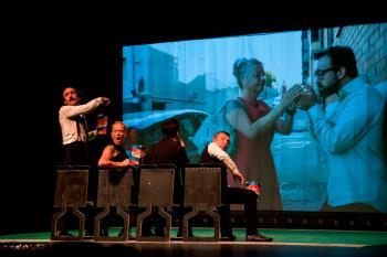 En el Nuevo Teatro Municipal con su espectáculo