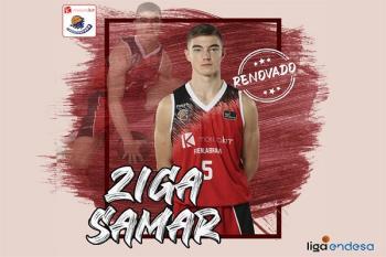 El base esloveno de 19 años renueva para las tres próximas temporadas y dará el salto al primer equipo del Montakit Fuenlabrada